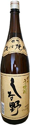 千曲錦酒造 そば焼酎 しな野 瓶 1800ml [長野県]