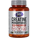 NOW Sports Creatine Monohydrate 750mg,120 Capsules