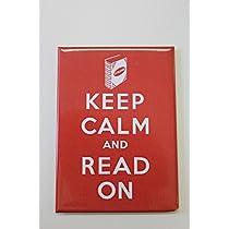 【STRAND BOOK STORE】MAG: Keep Calm and Read On(ストランドブックストア マグネット キープカルム:カラーレッド)