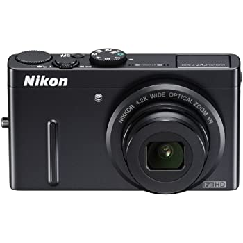 NikonデジタルカメラCOOLPIX P300 ブラックP300 1220万画素 裏面照射CMOS 広角24mm 光学4.2倍 F1.8レンズ フルHD
