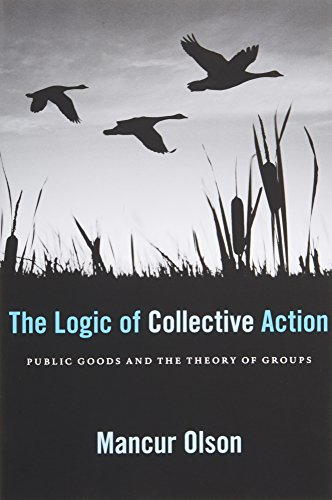 Download The Logic of Collective Action: Public Goods and the Theory of Groups, Second Printing with a New Preface and Appendix (Harvard Economic Studies) 0674537513