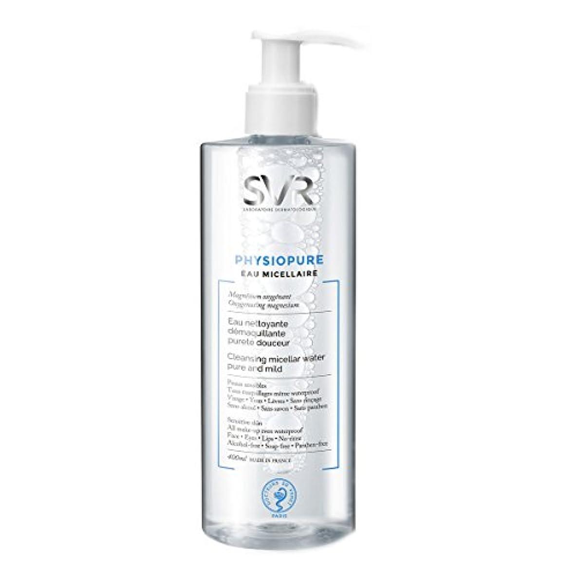 スポンジデンプシー舗装するSvr Physiopure Cleansing Micellar Water 400ml [並行輸入品]