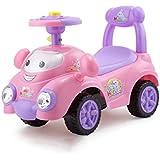 子供1?3歳の音楽と車のヨーヨー車ツイストスクーターベビーカースクーター Xuan - worth having (Color : Pink)