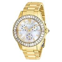 Invicta Women's Angel Quartz 3 Hand White Dial Watch