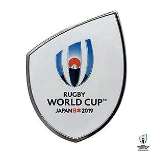 ラグビーワールドカップ2019TM(Rugby World Cup 2019TM) ピンバッジ WHT R32388