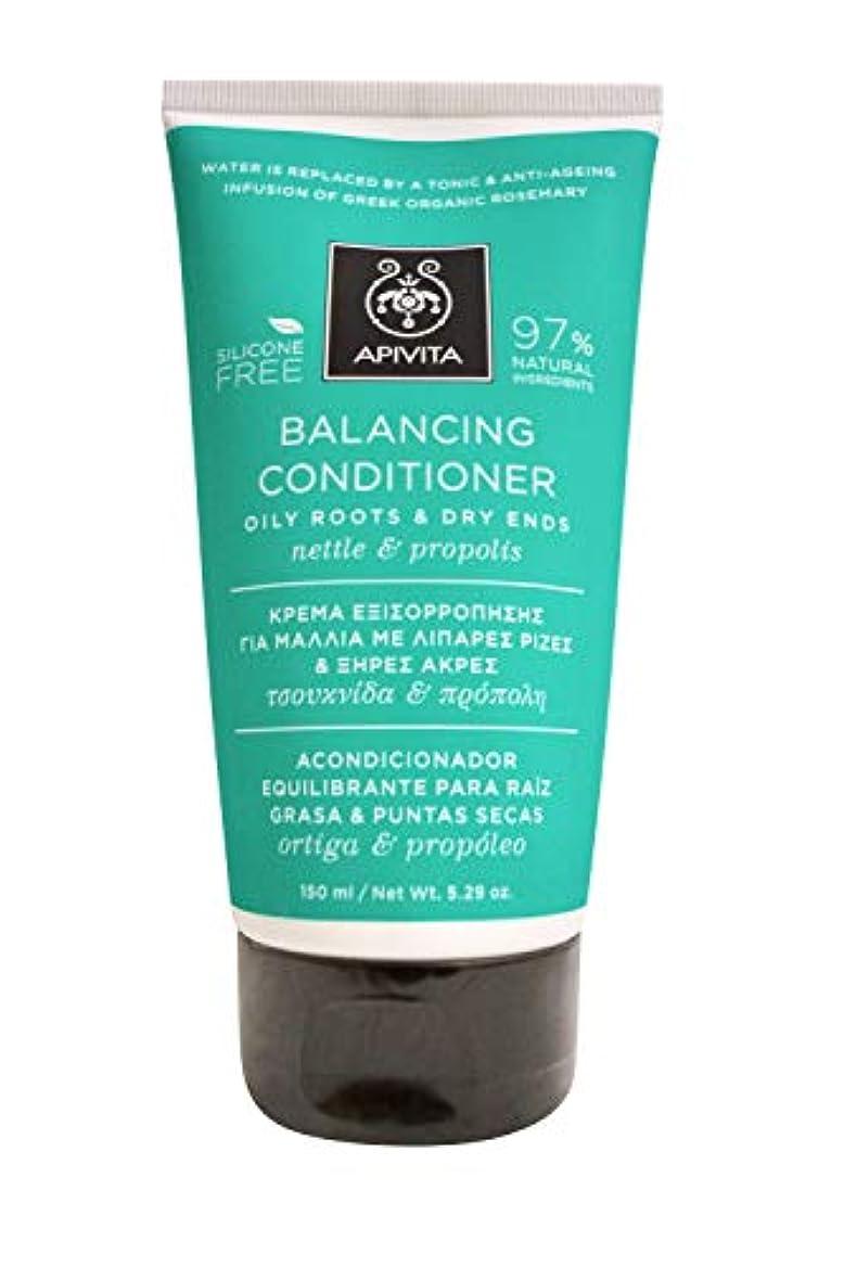 オーバーヘッドコミュニティ減衰アピヴィータ Balancing Conditioner with Nettle & Propolis (Oily Roots & Dry Ends) 150ml [並行輸入品]