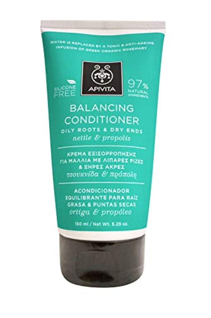 アピヴィータ Balancing Conditioner with Nettle & Propolis (Oily Roots & Dry Ends) 150ml [並行輸入品]