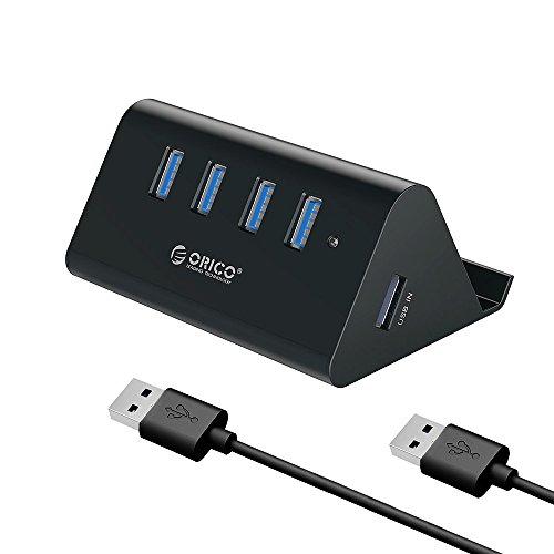 ORICO USB3.0 ハブ 4ポート スマホホルダー &...