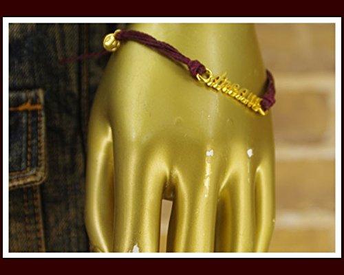 プラヴィダ PURAVIDA サファリ掲載 カラー コーティング ブレスレット メンズ DREAM BURGUNBY バーガンディ NOSIZE
