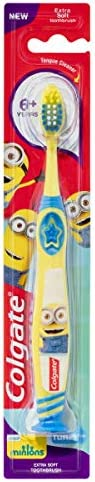 Colgate Minions Kids Toothbrush 6 years + Extra Soft