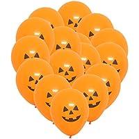 SONONIA 100個入り ラテックス バルーン ハロウィンパーティー デコレーション 小道具 全4種類 - かぼちゃ