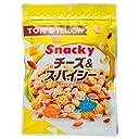 東洋ナッツ食品 トン イエロー スナッキー チーズ スパイシー ミックスナッツ 175g×10袋入