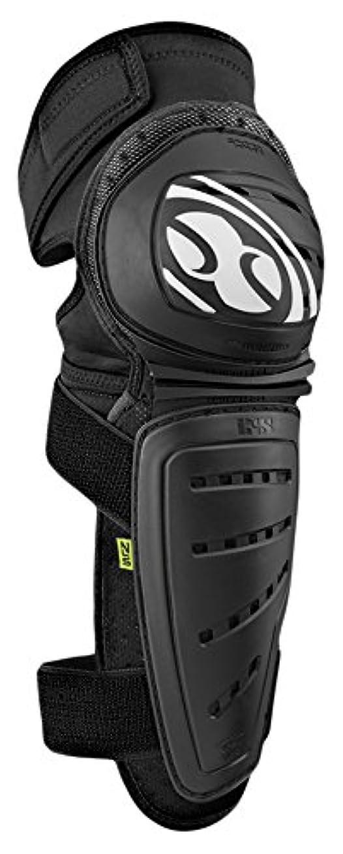 スモッグ採用する形状IXS Mallet Knee-Shin pads black S | 482-510-4500-003-S