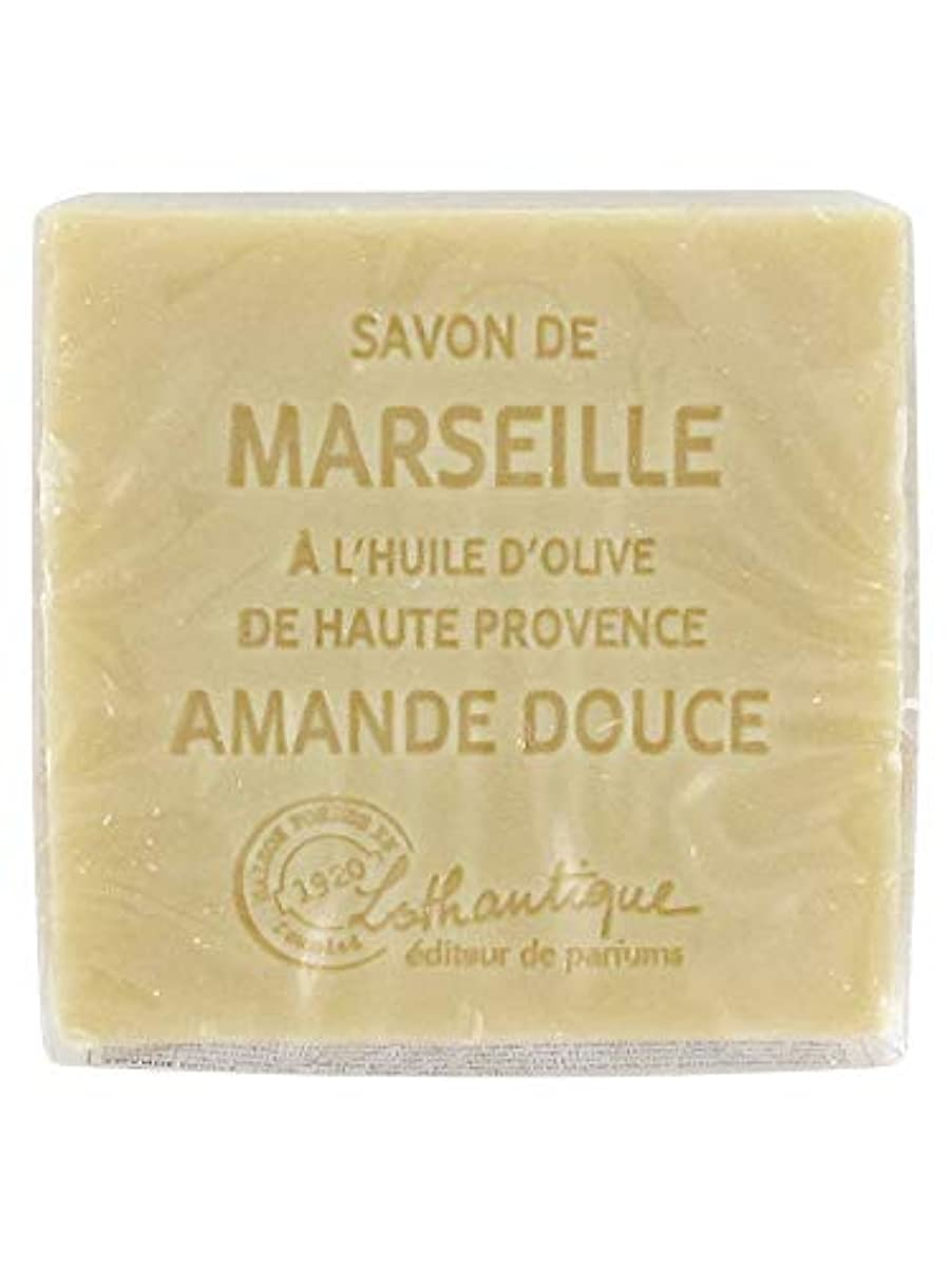 保有者おばさん能力Lothantique(ロタンティック) Les savons de Marseille(マルセイユソープ) マルセイユソープ 100g 「アーモンド」 3420070038111