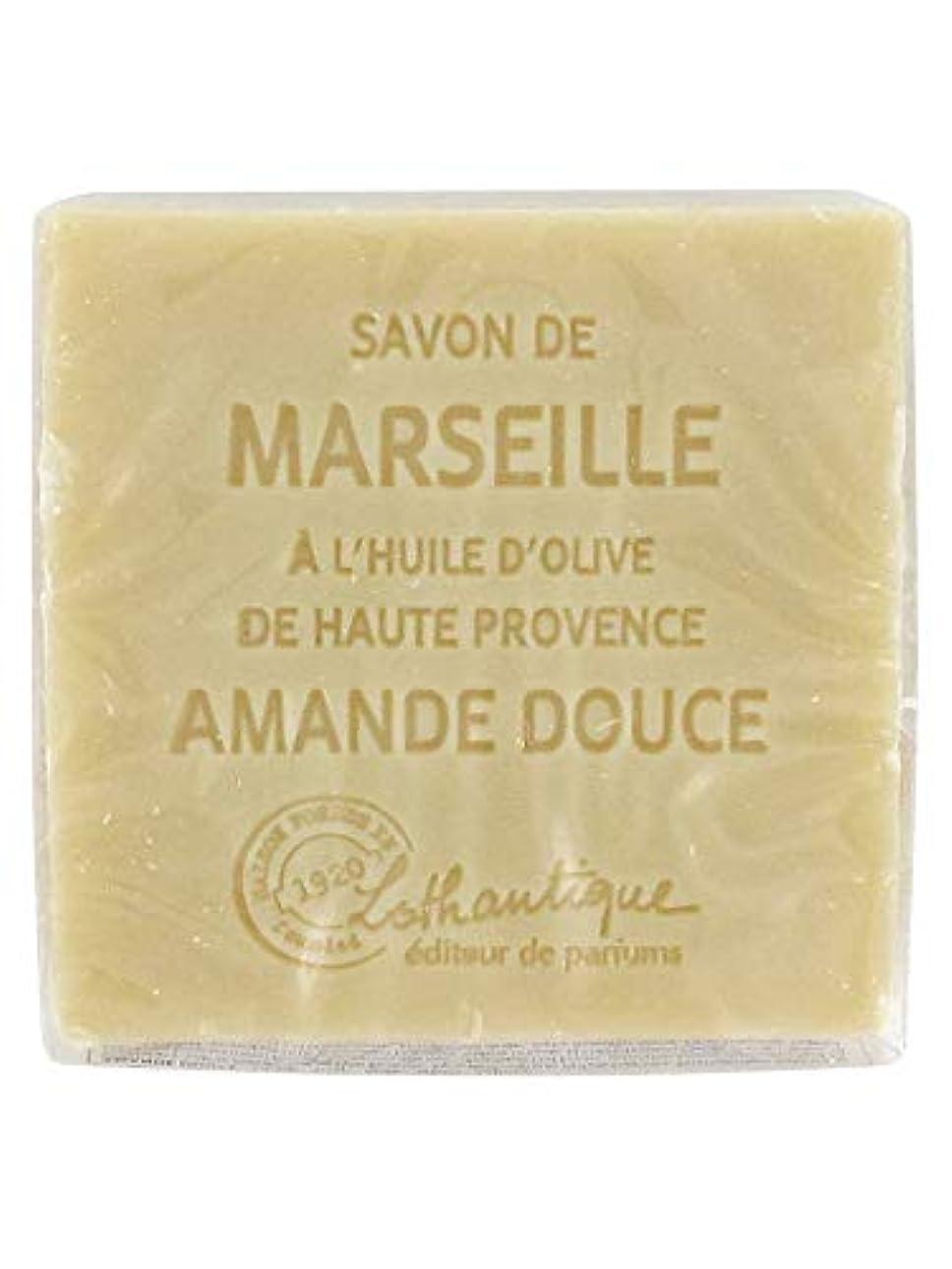 まどろみのある上がる主導権Lothantique(ロタンティック) Les savons de Marseille(マルセイユソープ) マルセイユソープ 100g 「アーモンド」 3420070038111