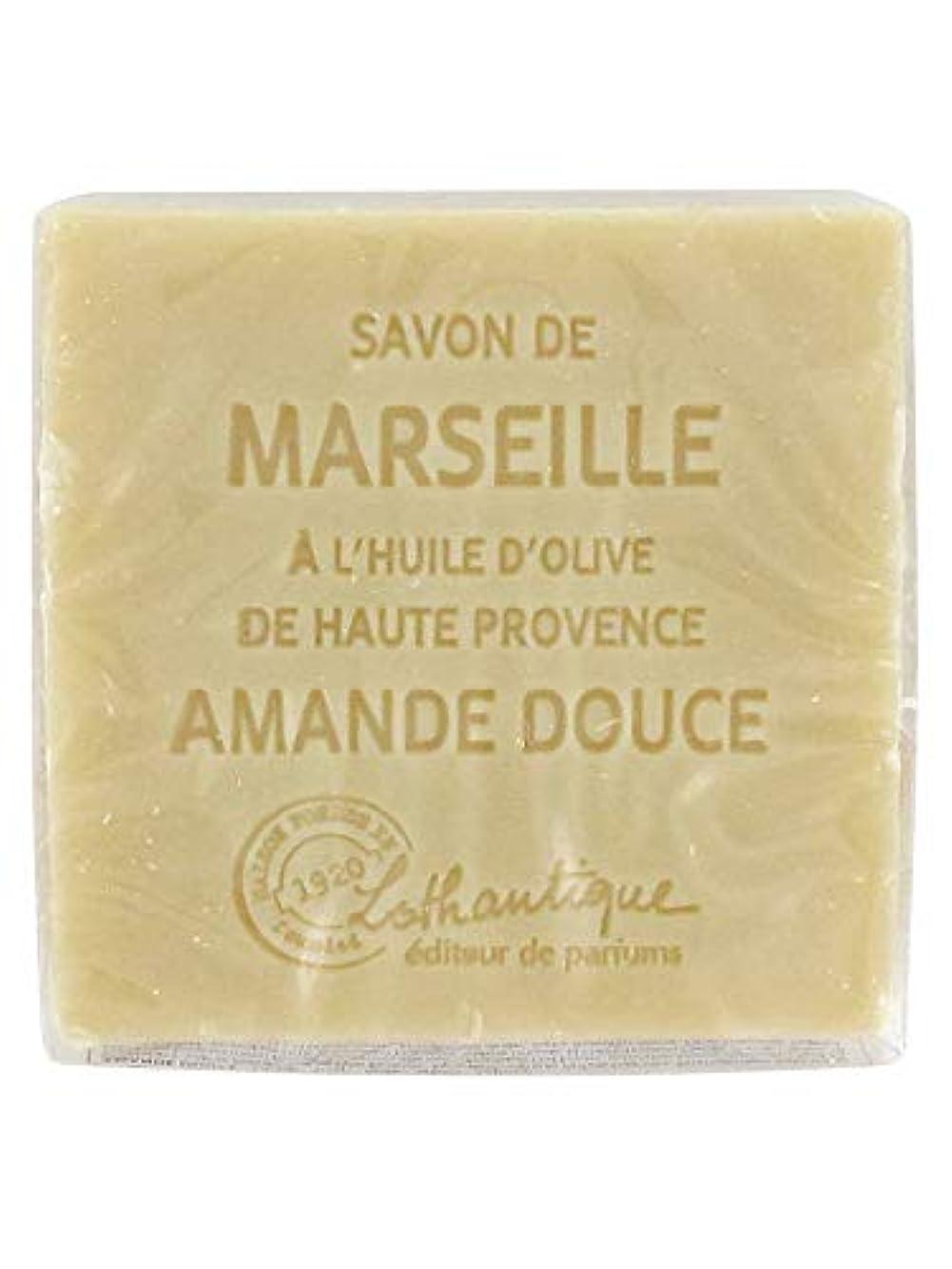 横たわる主観的重なるLothantique(ロタンティック) Les savons de Marseille(マルセイユソープ) マルセイユソープ 100g 「アーモンド」 3420070038111