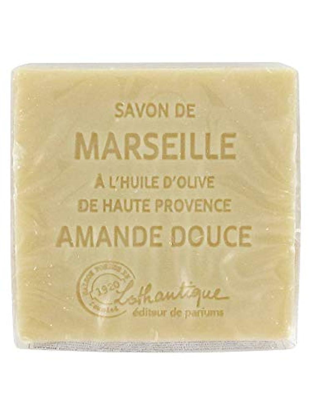 人道的最も一般的に言えばLothantique(ロタンティック) Les savons de Marseille(マルセイユソープ) マルセイユソープ 100g 「アーモンド」 3420070038111