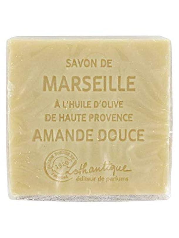 司書欲求不満投げ捨てるLothantique(ロタンティック) Les savons de Marseille(マルセイユソープ) マルセイユソープ 100g 「アーモンド」 3420070038111