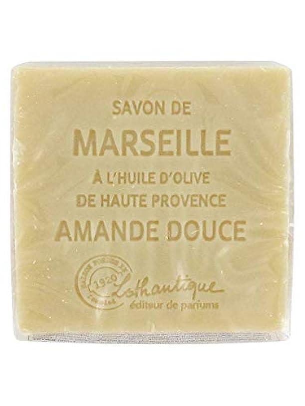 緑ゼロ登録Lothantique(ロタンティック) Les savons de Marseille(マルセイユソープ) マルセイユソープ 100g 「アーモンド」 3420070038111