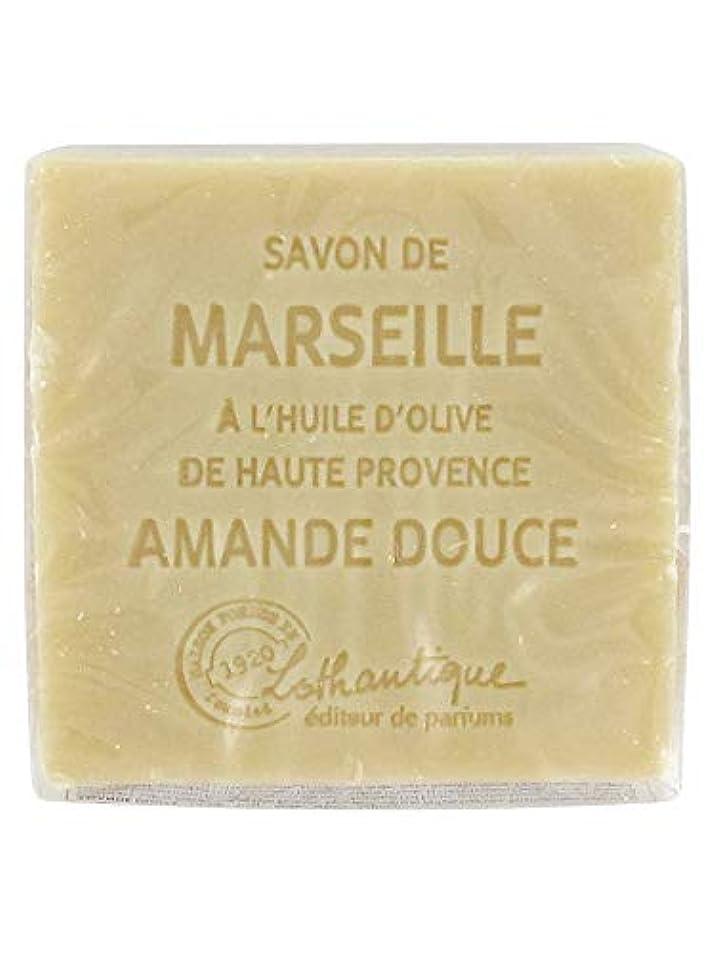 説得力のある壁紙エクスタシーLothantique(ロタンティック) Les savons de Marseille(マルセイユソープ) マルセイユソープ 100g 「アーモンド」 3420070038111