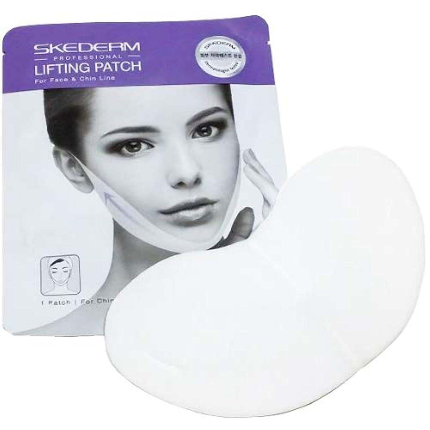 SCEDERM リフティング パッチ 7g×9枚 韓国化粧品 V-TOXリフティングマスク マスク リフティング パッチ 小顔、顎ラインの必須アイテム Vライン