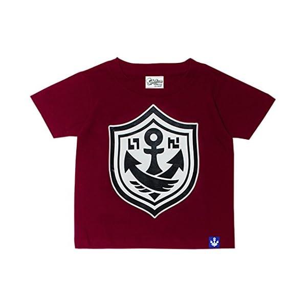 Splatoon ガチTシャツ エンジ キッズ100の商品画像