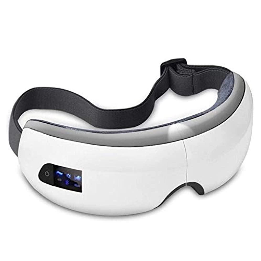 連鎖議題ハドルRuzzy 流行の目のマッサージのSPAの器械、熱療法が付いている電気アイマッサージャー 購入へようこそ