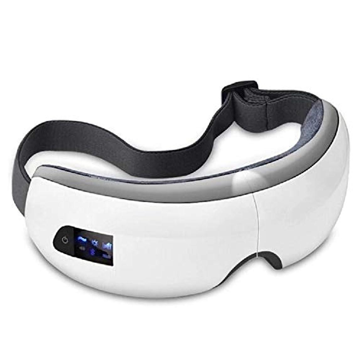 局採用そよ風Ruzzy 流行の目のマッサージのSPAの器械、熱療法が付いている電気アイマッサージャー 購入へようこそ