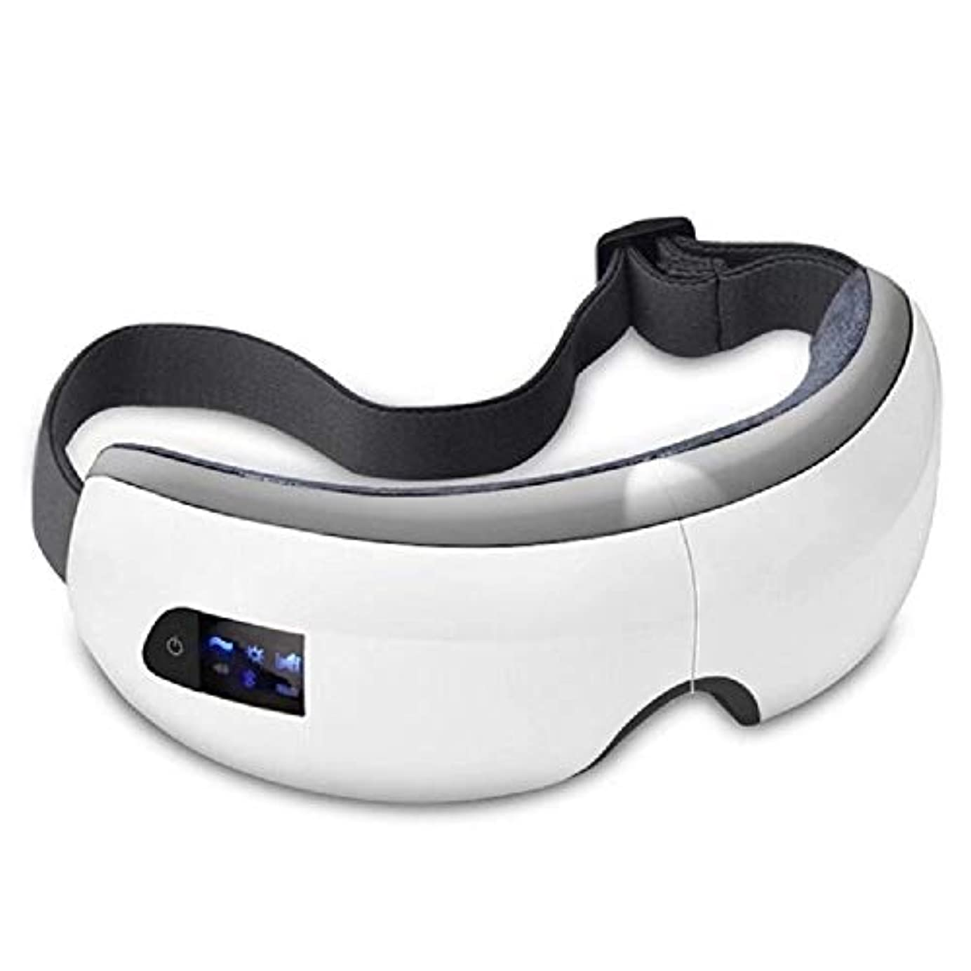 飢え痴漢資産Ruzzy 流行の目のマッサージのSPAの器械、熱療法が付いている電気アイマッサージャー 購入へようこそ
