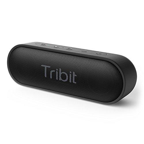Tribit XSound Go Bluetooth スピーカー IPX7完全防水 12W ポータブルスピーカー 24時間連続再生 ブルート...