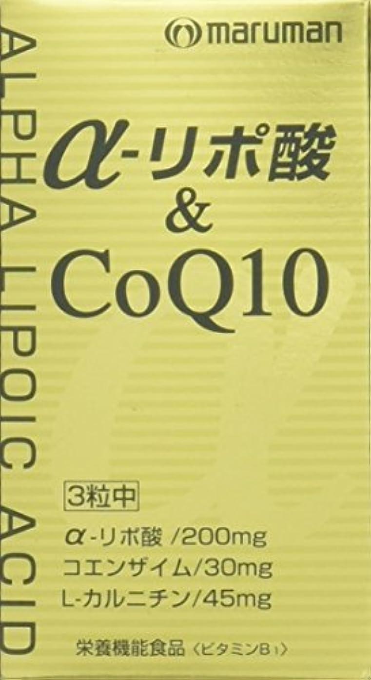 変形スリム極めて重要なマルマン α-リポ酸&CoQ10 249mg×90粒