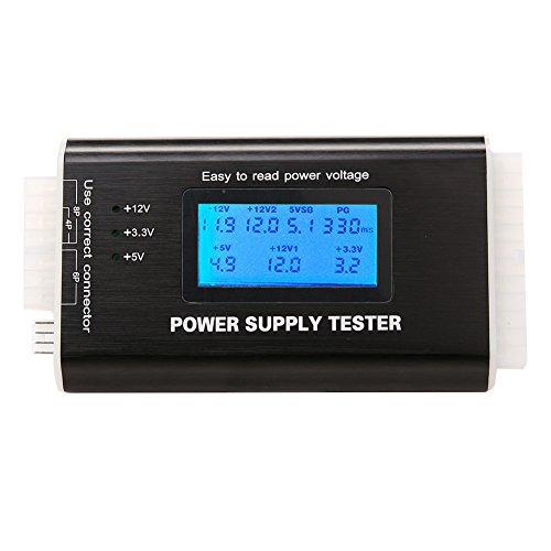 zmart パソコン ATX電源 テスター 20/24Pin ITX SATA HDD 電圧