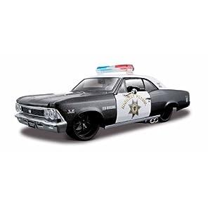 1/24 1966 CHEVROLET CHEVELLE SS396 HIGHWAY PATROL CAR