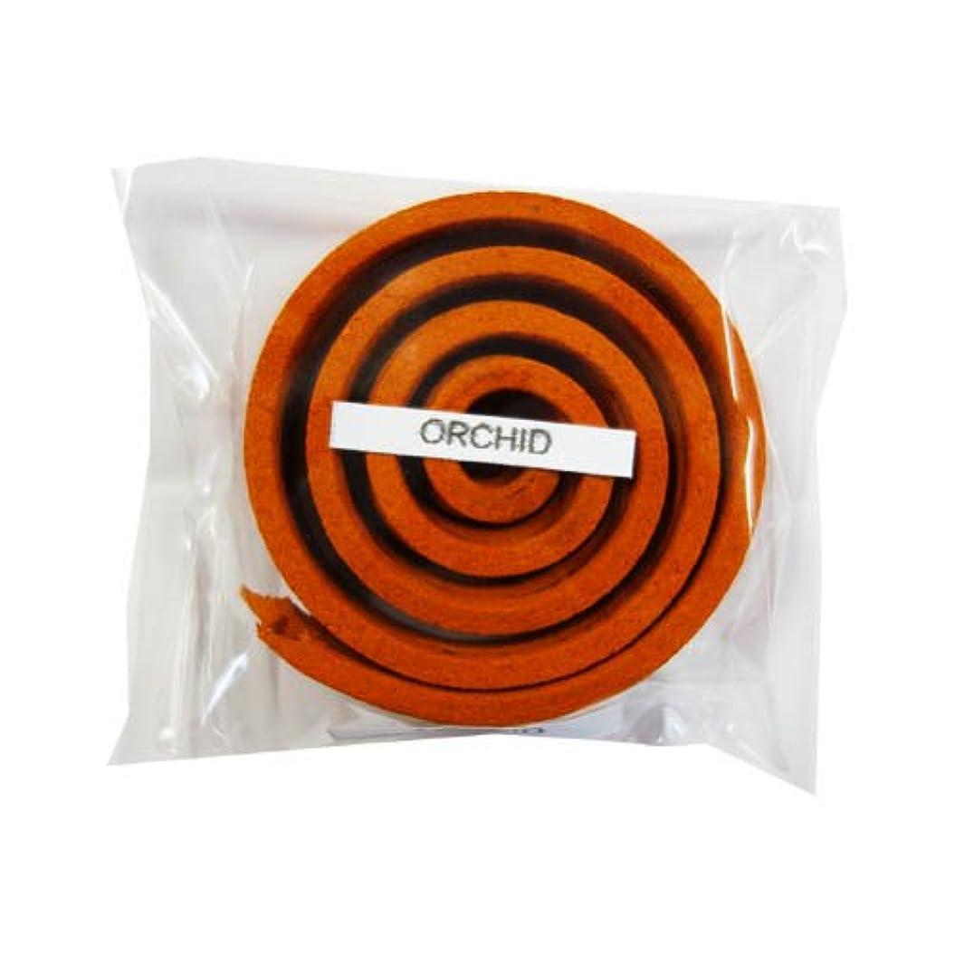 プロポーショナル小石コンプリートお香/うずまき香 ORCHID オーキッド 直径5cm×5巻セット [並行輸入品]