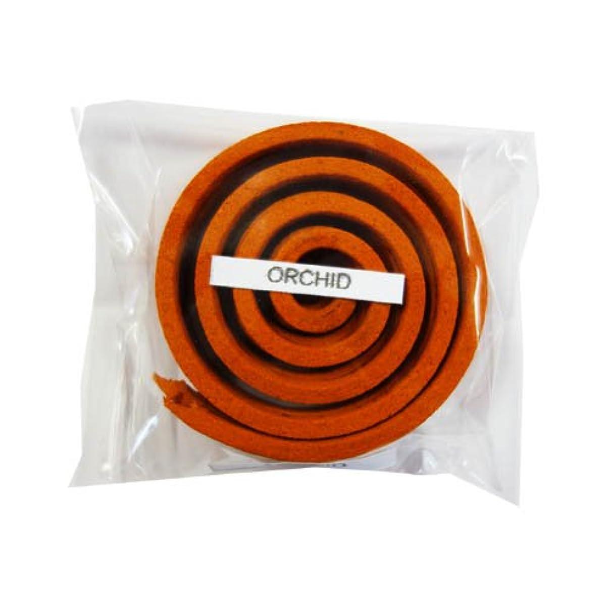 扇動するリークパトロールお香/うずまき香 ORCHID オーキッド 直径5cm×5巻セット [並行輸入品]
