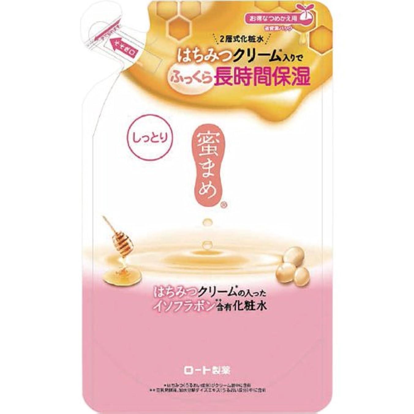 ローラー四排出蜜まめ 合わせ化粧水 (しっとり) (つめかえ用) 180mL