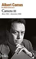Carnets tome 3: Mars 1951 - Decembre 1959