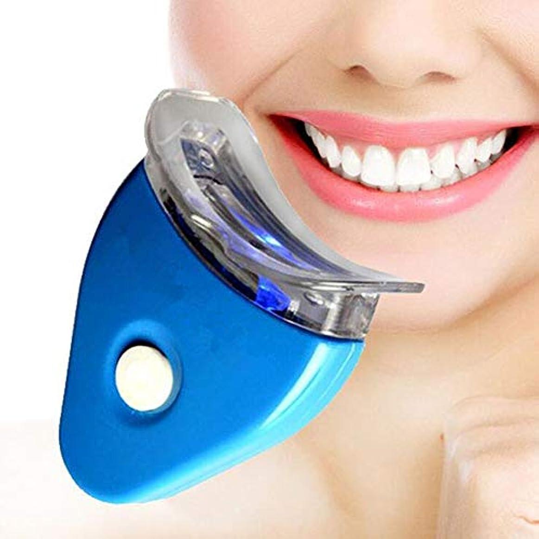 バック型カエル歯のホワイトニングキット、歯磨き粉漂白健康な口腔ケア歯磨き粉個人用歯科キット/健康な口腔ケア、LEDライト付き