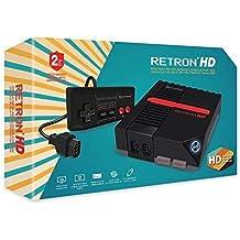 HYPERKIN RetronHD N.E.S Retro Entertainment System (Black) Top Loader MODEL : M01888-BK