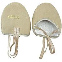 s.lemon Vegan Materials Lyrical Dance Ballet Half Soles Gymnastics Shoes