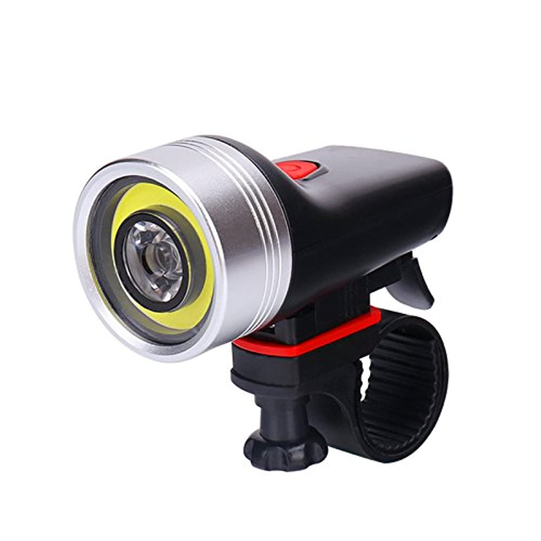逃れる入場料楽観的RaiFu 自転車ヘッドライト USB充電式 スーパーブライト 自転車 LEDライト 防水 懐中電灯 ナイトライディング機器