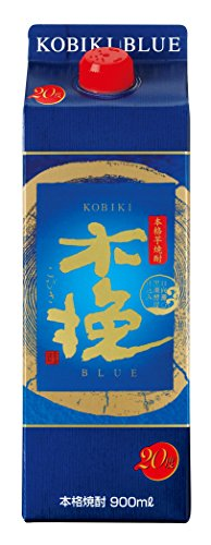 雲海酒造 木挽BLUE 芋焼酎 20度 スリムパック 900ml  [宮崎県]
