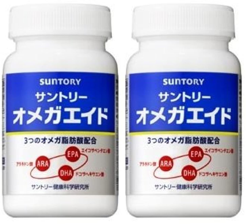 スーパートラックバックグラウンド【2個セット】サントリー オメガエイド 180粒