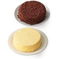【Amazon.co.jp限定】 ルタオ (LeTAO) チーズケーキ 奇跡の口どけセット (ドゥーブルフロマージュ ショコラドゥーブル) 4号12cm 2個 バレンタインデー