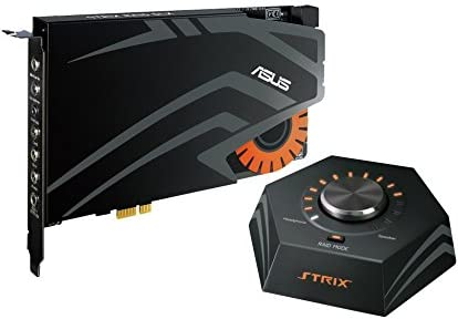 ASUSTekハイレゾ対応 STRIXゲーミング サウンドカード PCI-E コントロールボックス付属 24bit/192kHz STRIX RAID DLX