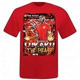 ロメル・ルカク& Man Utd Super Striker Tシャツ