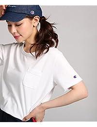 Champion(チャンピオン) ポケット付クルーネックTシャツ ウィメンズ