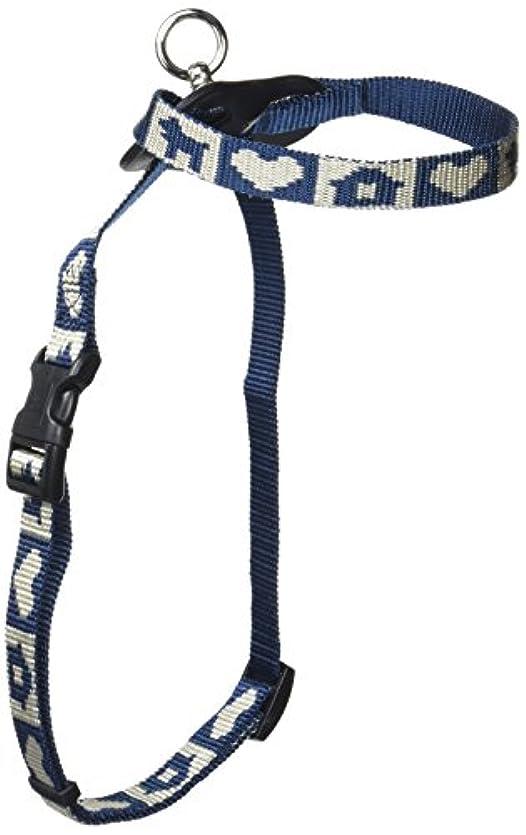 いらいらさせる細菌酸度DISUKI(ダイスキ) ハートハウス ハーネス胴輪 S(小型犬用) 青
