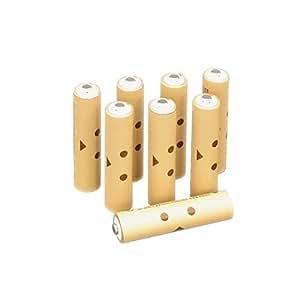 DANBOARD充電式ニッケル水素電池 単4形8個パック (充電済み、最小容量750mAh、約1000回使用可能) HR-4UTE(8S)DB