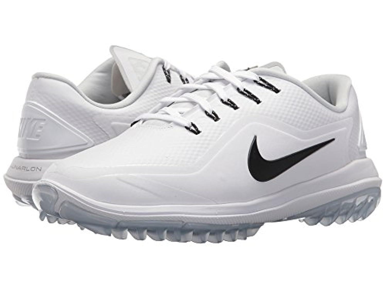 (ナイキ) NIKE レディースゴルフシューズ?靴 Lunar Control Vapor 2 White/Black/Pure Platinum/Volt 11 (28cm) B - Medium